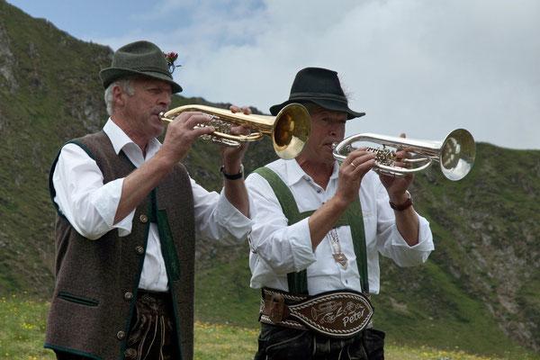 Flügelhornduo aus Kitzbühel