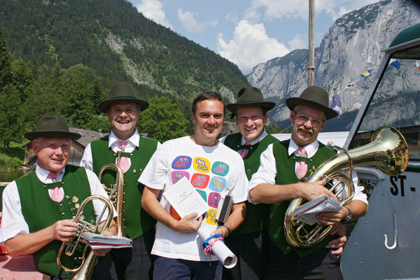 Geburtstag Christian Tichy (Wiener Staatsopernballett) in Altaussee