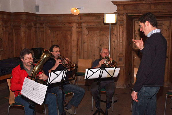 Volksmusikseminar auf Schloß Goldrain (Südtirol) mit Herbert Pixner