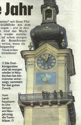 Kronen Zeitung OÖ am 02.01.2018