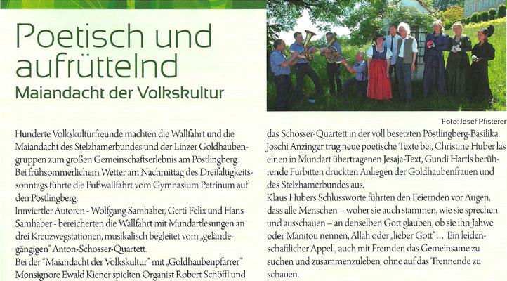 Wortgarten, Sommer 2016 / Heft Nr. 199 (Stelzhamerbund)