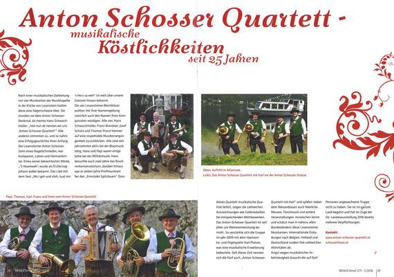 BRAUCHma!  Ausgabe 271 / März 2016 (Heimat- und Trachtenvereine OÖ)