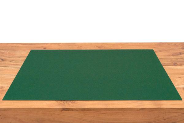 Rob&Raf Designer Schreibunterlage aus Wollfilz in Dunkelgrün auf Schreibtisch