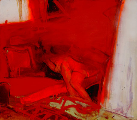 red room '13 / 75 x 85