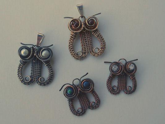 Art.Nr. 05217 (Silber) und Art.Nr. 05317 (Kupfer) sind in allen möglichen Steinfarben erhältlich!