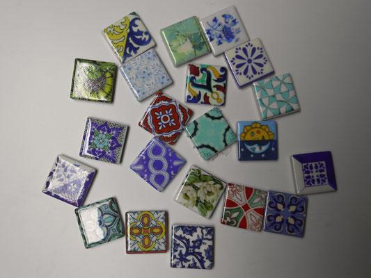 """Viele verschiedene Minifliesen gibt es zur Auswahl! Im """"D´Idää"""" in Traunstein gibt es viele mehr!"""