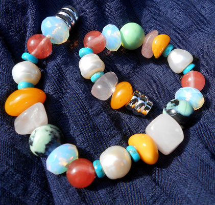 "Art.Nr. 00515 Armband ""Multicolor"" Gesamtlänge 20cm (€35.-)"