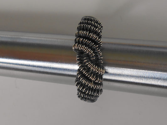 Sterling Silber Ringgröße 19 bzw. 59 (€22.-)