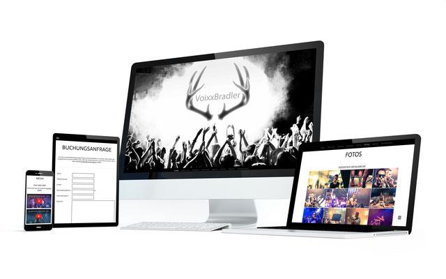 Webseite – Voixxbradler