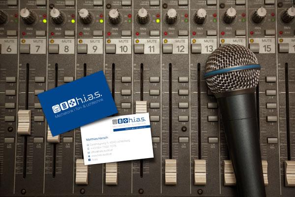 Visitenkarten – h.i.a.s. audio