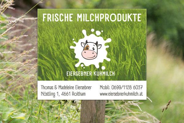 Tafel – Eiersebner Kuhmilch