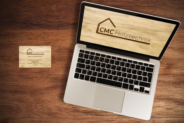 Visitenkarten, Webseite – CMC Holztechnik GmbH