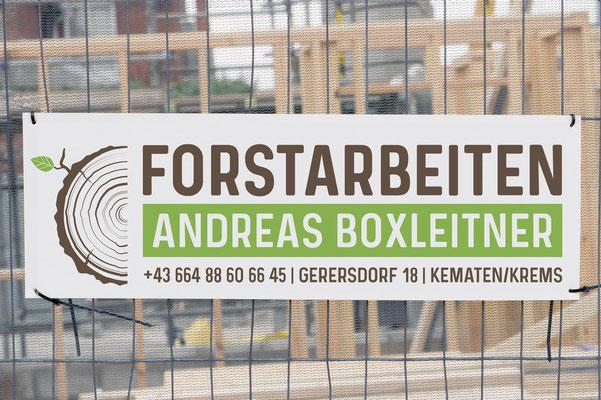 Forstarbeiten Andreas Boxleitner - Transparent
