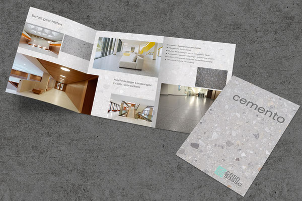 Produktfolder – Casa Sasso