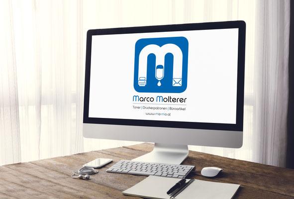 Logo –Marco Molterer Toner - Druckerpatronen - Büroartikel