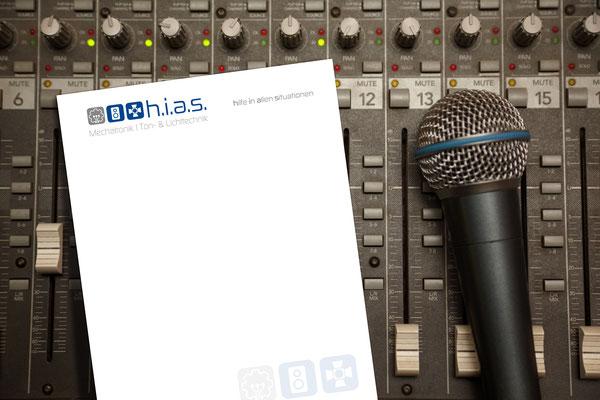 Briefpapier – h.i.a.s. audio