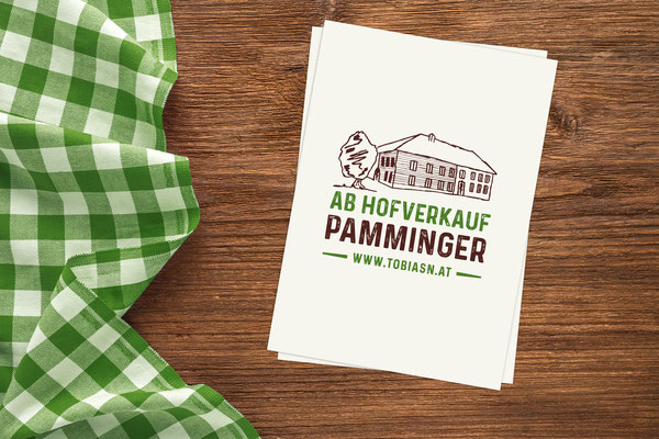 Ab Hofverkauf Pamminger - Logogestaltung