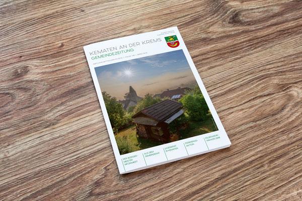 Titelseite Gemeindezeitung – Gemeinde Kematen an der Krems