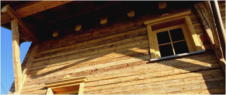 Natürliche Fassadenverkleidungen