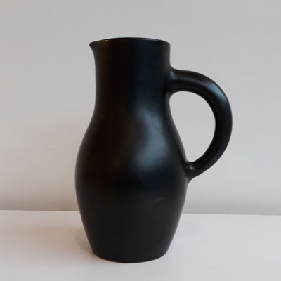 Georges Jouve, pichet en céramique, h=20cm, c. 1950
