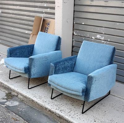 Louis Paolozzi, paire de fauteuils Prelude pour ZOL, c. 1960