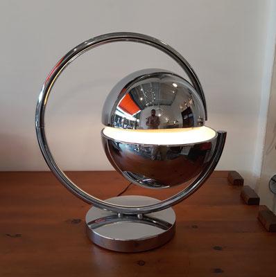 Pierre Folie,  lampe Astrolabe pour Charpentier, c. 1970
