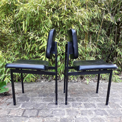 Pierre Paulin, rare paire de chaises pour Thonet, c. 1960