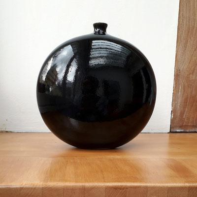 Jacques & Dani Ruelland, grand vase lentille, c. 1980