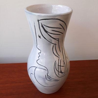 Jacques Innocenti, vase en céramique, c. 1955