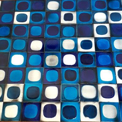 """Roger Capron, série de 140 carreaux """"Planète"""", c. 1965"""
