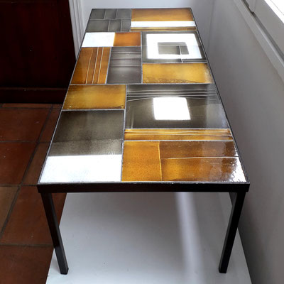Roger Capron, table basse en céramique, c. 1965