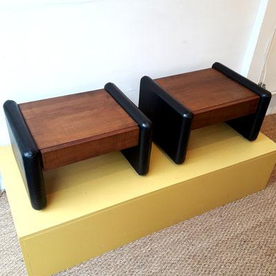 André Simard, paire de chevets pour Le mobilier Simard, c. 1960
