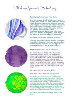 Farbsnalyse und Bedeutung Bild (Aquarell) CHF 350