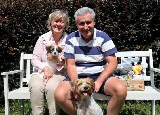 Familie von Ari mit Bente