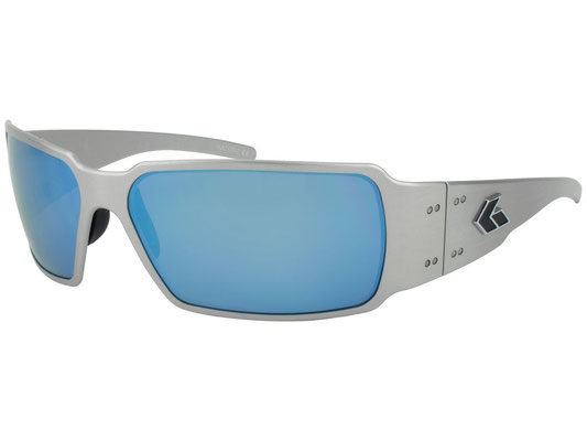 BOXSTER/Brushed Smoke Polarized W Blue Mirror/¥26,000(税別)