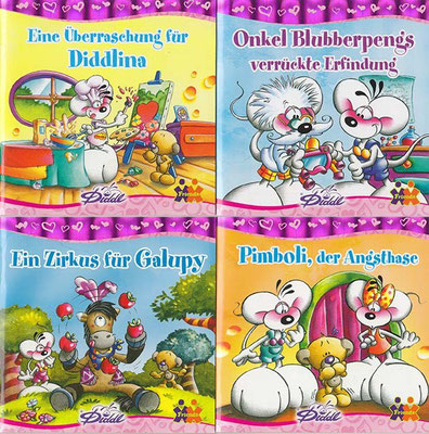 Minibücher / Redaktion und Text