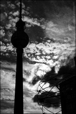 The sky over Berlin