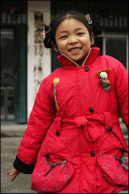 Posing time in Wudangshanzhen