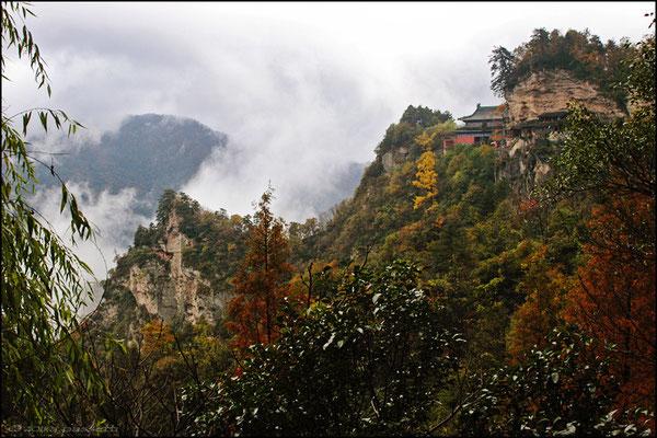 The picturesque Nanyan zone, Wudangshan