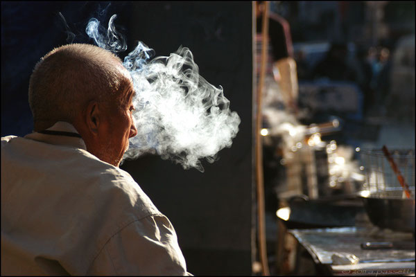 """""""Smoking man"""", Beijing"""