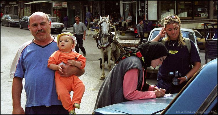 Old town in Ankara, Turkey