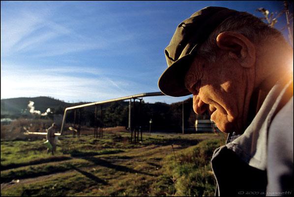 Break during agricultural activities in Lago Boracifero.