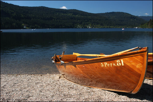 Titisee, a nice lake in the middle of the Black Forest