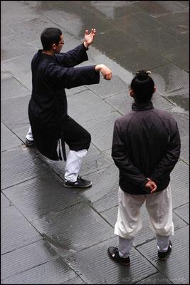 A rainy day at Wudang Taoist Kung Fu Academy