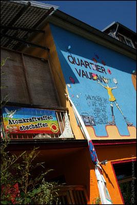 "Quartier Vauban - ""We create the world as we like"" (or something)"