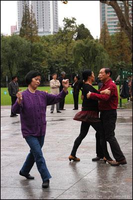 Dancing at Zhongshan Park, Shanghai