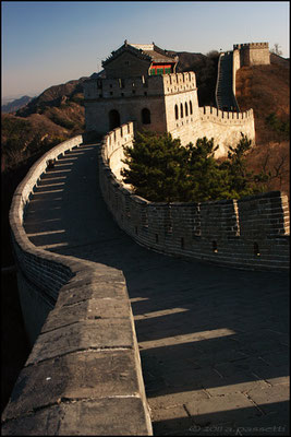 Southern section of the Great Wall at Badaling