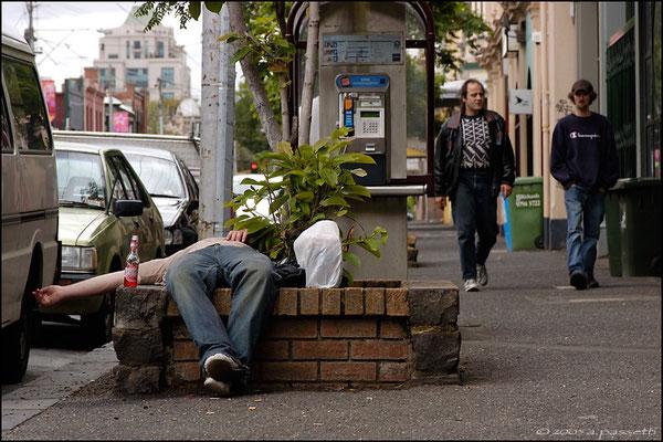"""La gran botta # 2"" - Corner between Gertrude St and Brunswick St, Melbourne"