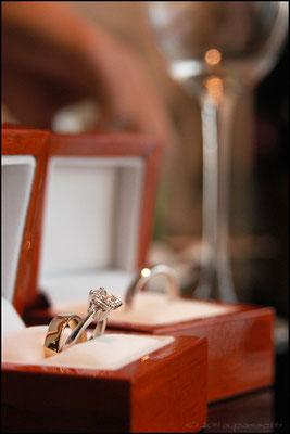 Rings for the wedding of Sandro & Stella, Shanghai World Financial Center