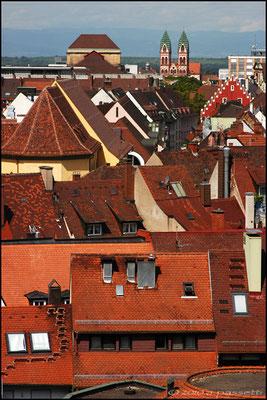 Freiburg's roofs
